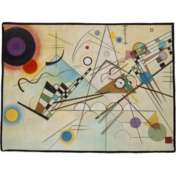 Kandinsky Composition 8 Door Mat