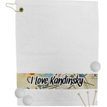 Kandinsky Composition 8 Golf Towel