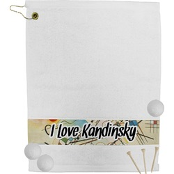 Kandinsky Composition 8 Golf Bag Towel