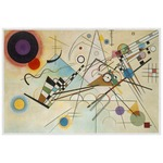 Kandinsky Composition 8 Placemat (Laminated)