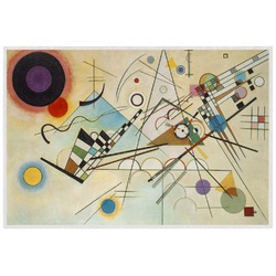 Kandinsky Composition 8 Laminated Placemat