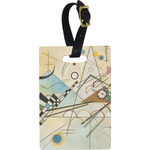 Kandinsky Composition 8 Rectangular Luggage Tag