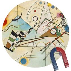 Kandinsky Composition 8 Round Magnet