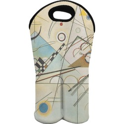 Kandinsky Composition 8 Wine Tote Bag (2 Bottles)