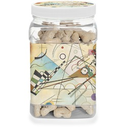 Kandinsky Composition 8 Pet Treat Jar