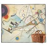 Kandinsky Composition 8 Outdoor Picnic Blanket