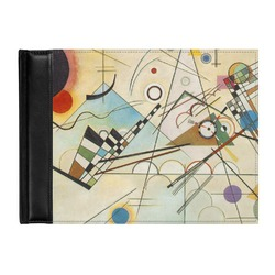 Kandinsky Composition 8 Genuine Leather Guest Book
