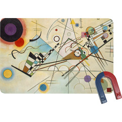 Kandinsky Composition 8 Rectangular Fridge Magnet