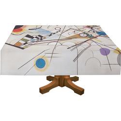 "Kandinsky Composition 8 Tablecloth - 58""x102"""