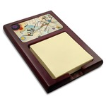 Kandinsky Composition 8 Red Mahogany Sticky Note Holder