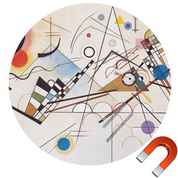 Kandinsky Composition 8 Car Magnet