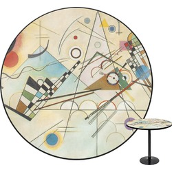 Kandinsky Composition 8 Round Table
