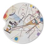 Kandinsky Composition 8 Sandstone Car Coasters