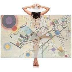 Kandinsky Composition 8 Sheer Sarong