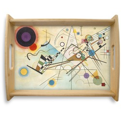 Kandinsky Composition 8 Natural Wooden Tray - Large