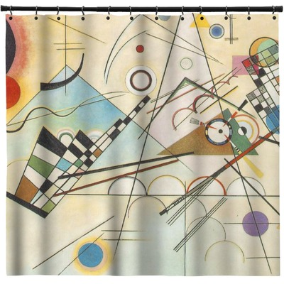 Kandinsky Composition 8 Shower Curtain