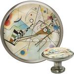 Kandinsky Composition 8 Cabinet Knob (Silver)