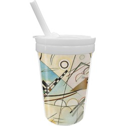 Kandinsky Composition 8 Sippy Cup with Straw