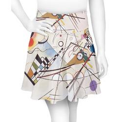 Kandinsky Composition 8 Skater Skirt
