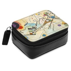 Kandinsky Composition 8 Small Leatherette Travel Pill Case