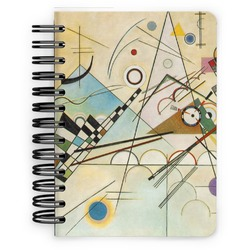 Kandinsky Composition 8 Spiral Bound Notebook - 5x7
