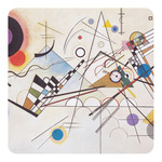 Kandinsky Composition 8 Square Decal - Custom Size