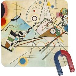 Kandinsky Composition 8 Square Fridge Magnet