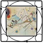 Kandinsky Composition 8 Square Trivet