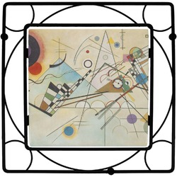 Kandinsky Composition 8 Square Trivet