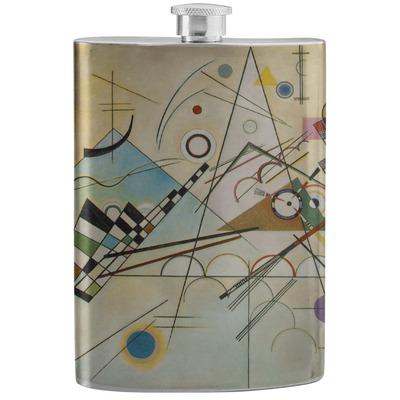 Kandinsky Composition 8 Stainless Steel Flask