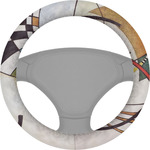 Kandinsky Composition 8 Steering Wheel Cover