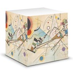 Kandinsky Composition 8 Sticky Note Cube