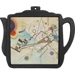 Kandinsky Composition 8 Teapot Trivet