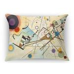 Kandinsky Composition 8 Rectangular Throw Pillow Case