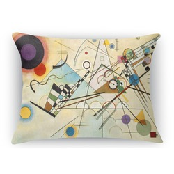 Kandinsky Composition 8 Rectangular Throw Pillow Case