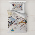 Kandinsky Composition 8 Toddler Bedding