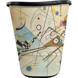 Kandinsky Composition 8 Waste Basket - Double Sided (Black)