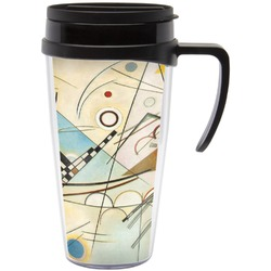 Kandinsky Composition 8 Travel Mug with Handle