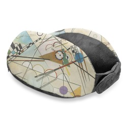 Kandinsky Composition 8 Travel Neck Pillow