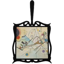 Kandinsky Composition 8 Trivet with Handle