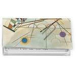 Kandinsky Composition 8 Vinyl Checkbook Cover