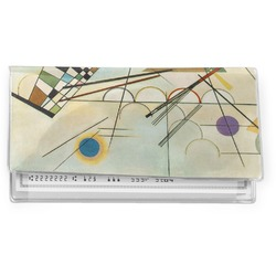 Kandinsky Composition 8 Vinyl Checkbook Cover