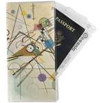Kandinsky Composition 8 Travel Document Holder
