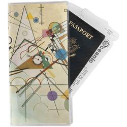 Kandinsky Composition 8 Travel Document Holder