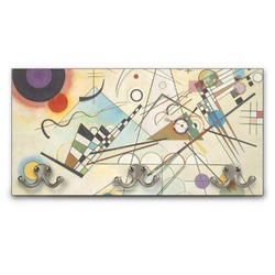 Kandinsky Composition 8 Wall Mounted Coat Rack