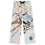 Kandinsky Composition 8 Womens Pajama Pants