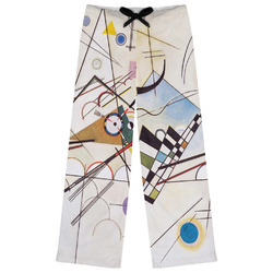 Kandinsky Composition 8 Womens Pajama Pants