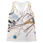 Kandinsky Composition 8 Womens Racerback Tank Top