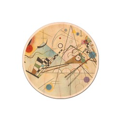 Kandinsky Composition 8 Genuine Maple or Cherry Wood Sticker