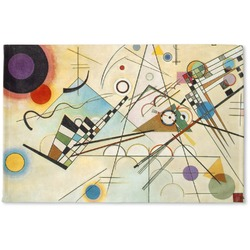 Kandinsky Composition 8 Woven Mat